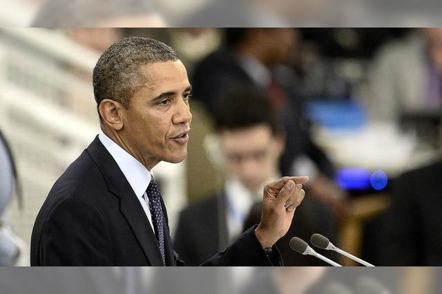 Obama geht auf den Irak zu