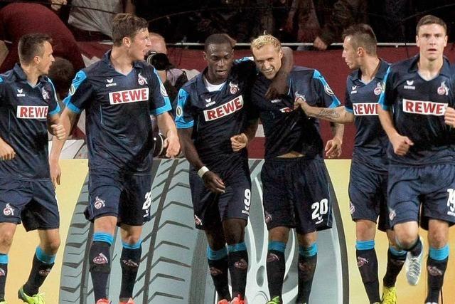 Köln wirft Mainz aus dem Pokal