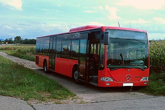 Busunfall in Willstätt verläuft glimpflich