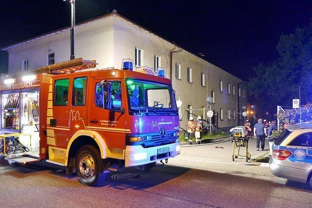 Brand im Obdachlosenheim