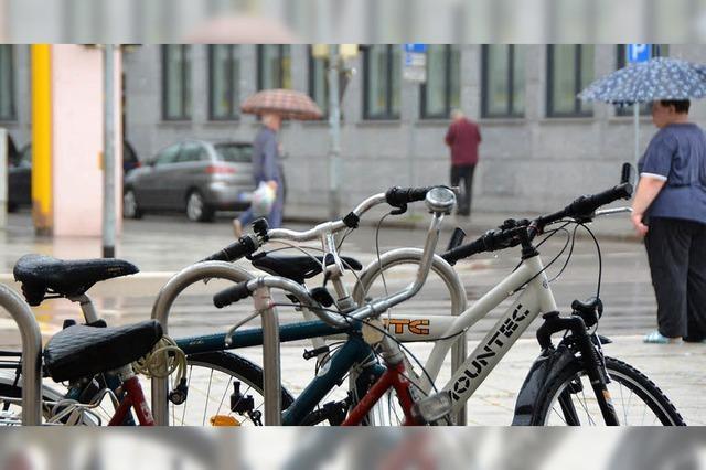 Stadt sorgt für trockene Fahrräder