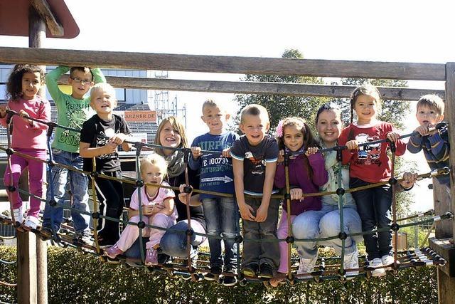 Schule und Kindergarten sind am Rappenstein eins