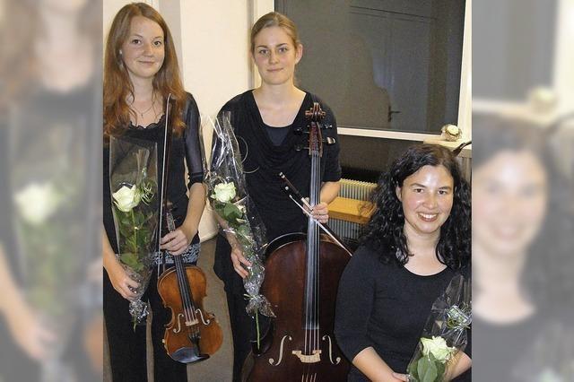 Ein Trio für 60 wunderbare Minuten