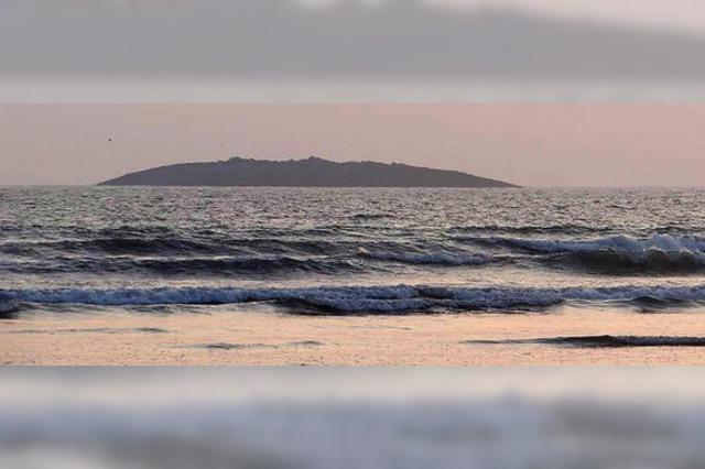 Erdbeben lässt Insel auftauchen