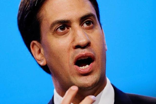 Labour-Chef Miliband bringt sich für Wahl 2015 in Stellung