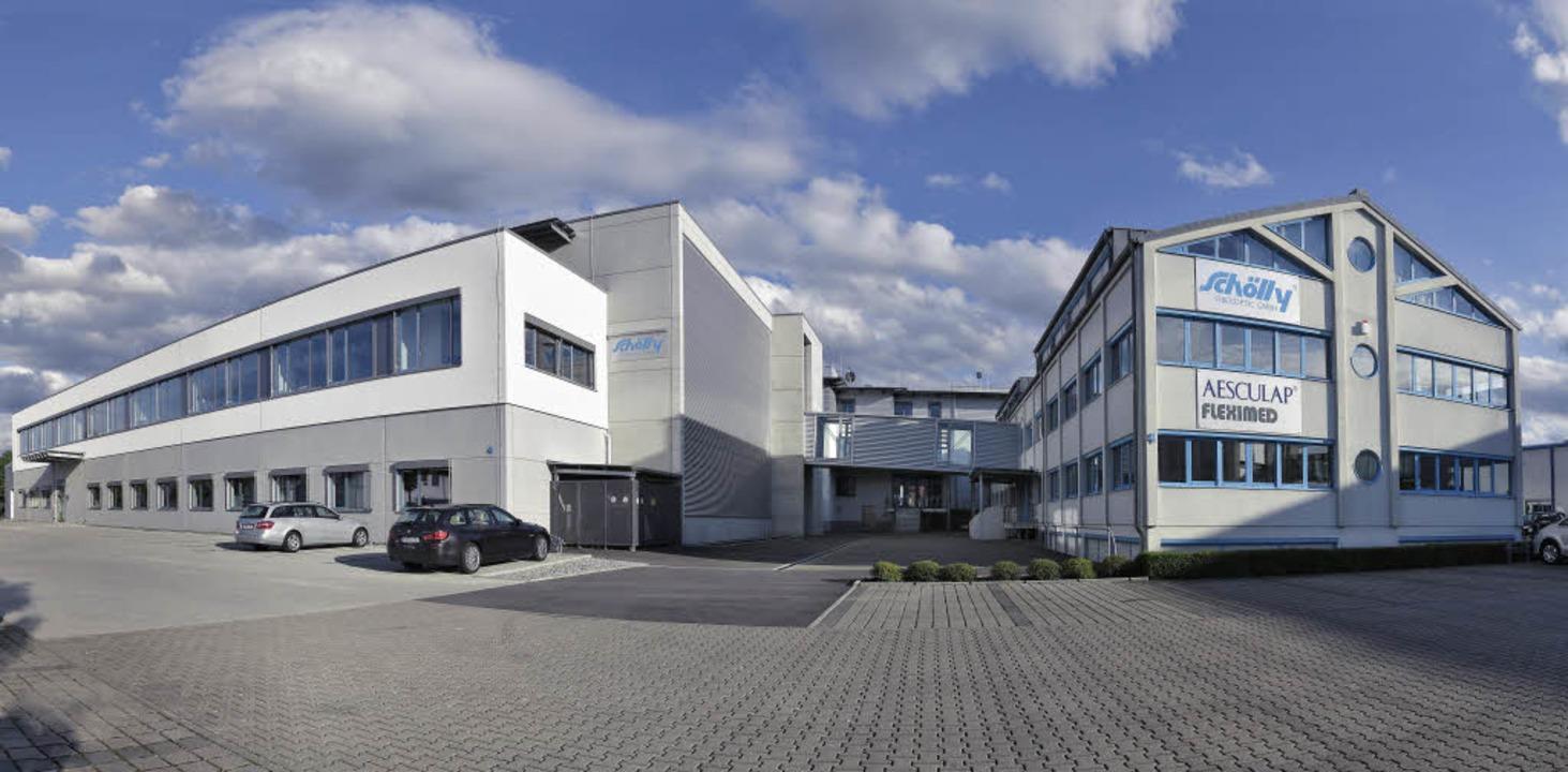Werk 4 (links) wird offiziell seiner Bestimmung übergeben.  | Foto: Schölly