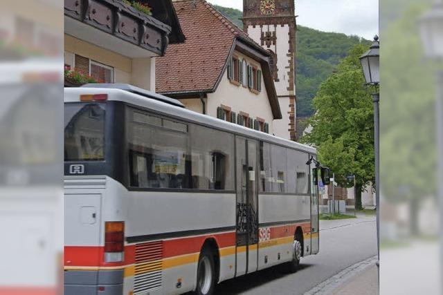 Letztmals Kandelbus von Waldkirch