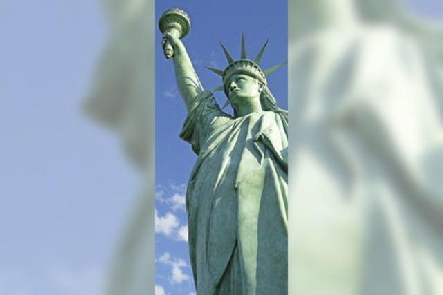 Lady Liberty grüßt aus Colmar