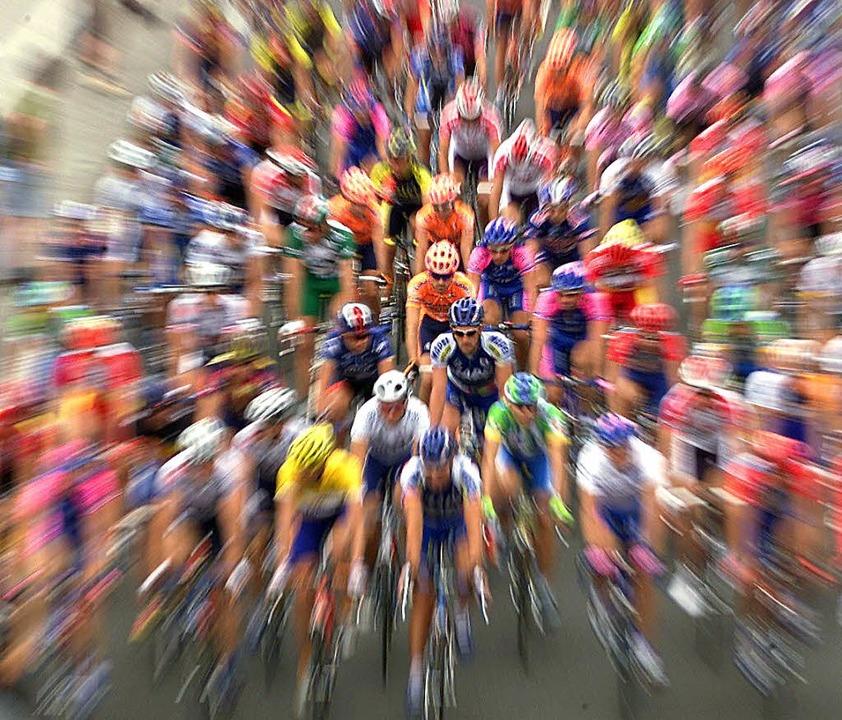 Radsport gilt in Sachen Doping  weiter   als Problemsport.   | Foto: Seeger/dpa