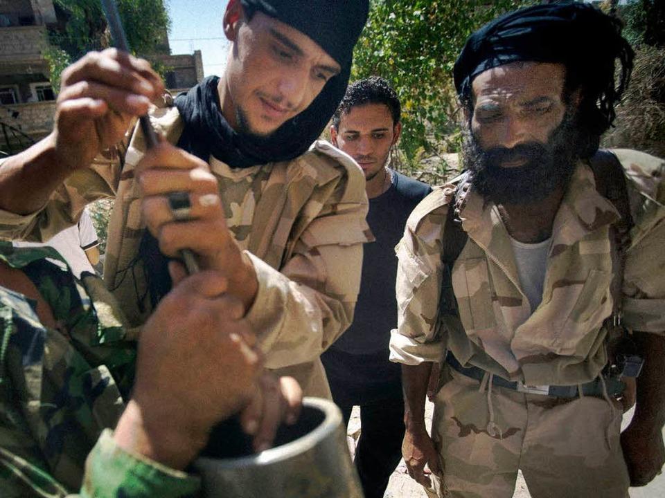 Islamistische Kämpfer in Syrien  | Foto: AFP