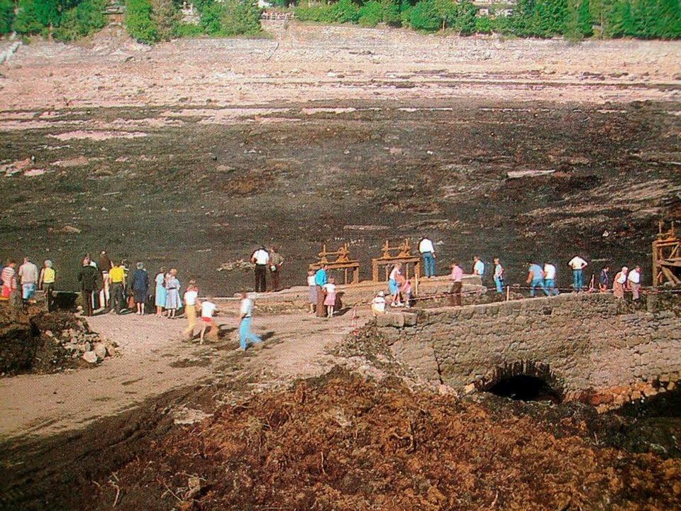 Ausflug auf den Grund des Schluchsees.  | Foto: Privat
