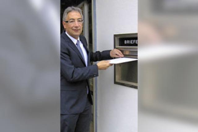 Dieter Köpfler ist erster Bewerber
