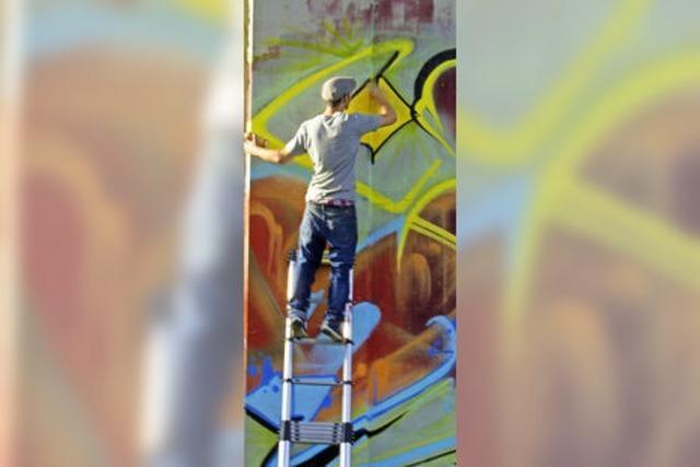 Graffiti Session Part II: Herbst aus der Spraydose