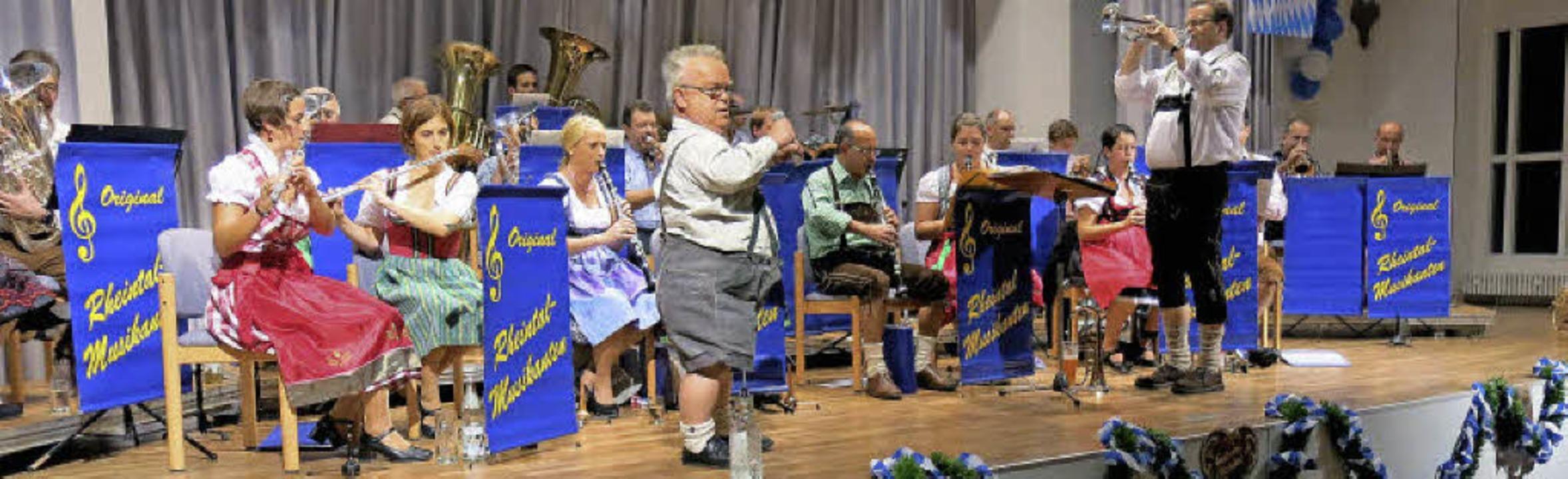 Spontane Gesangseinlage    Foto: Georg Voß