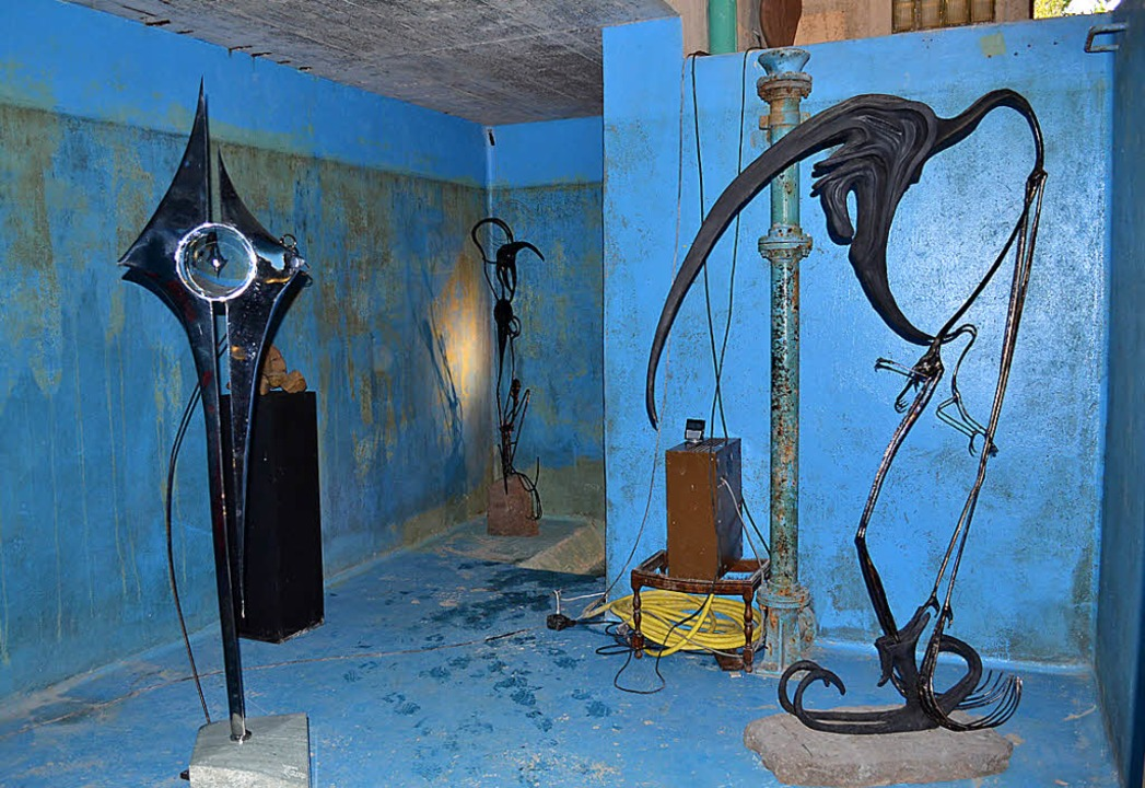 Im alten Hägellberger Wasserhüsli ist ..., 6. Oktober  ist Tag der offenen Tür.  | Foto: Dietrich