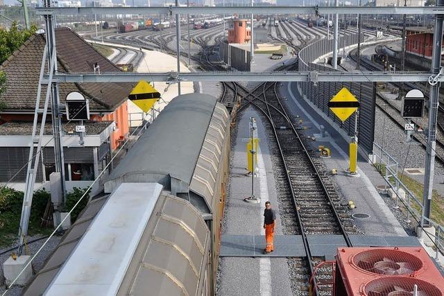 Rangierbahnhof Basel I für 160 Millionen Franken umfassend modernisiert