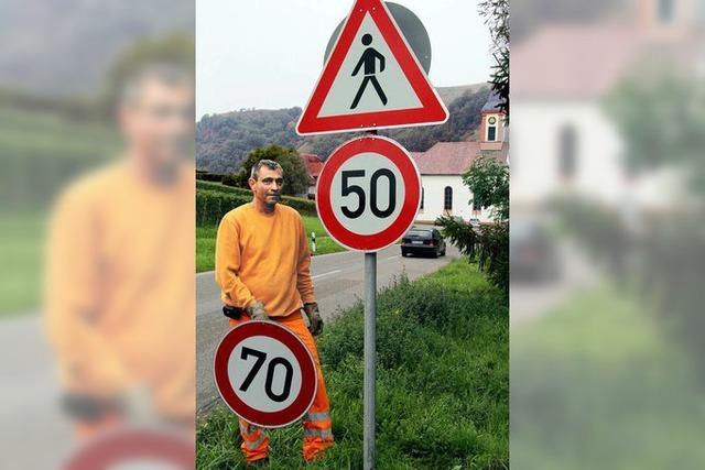 Landratsamt gibt nach: Tempo 50 in Altvogtsburg