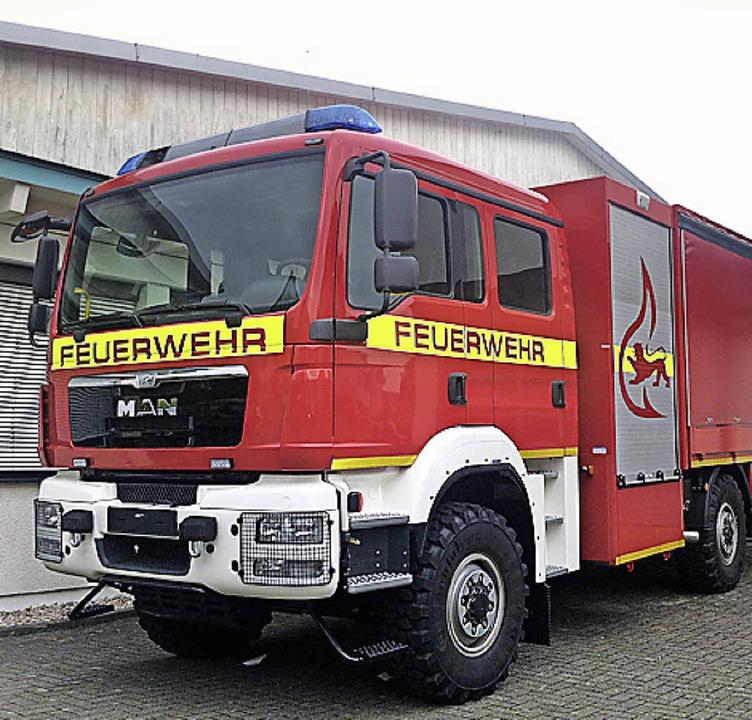 Der Neue bei der Feuerwehr March: der GW-L2   | Foto: privat