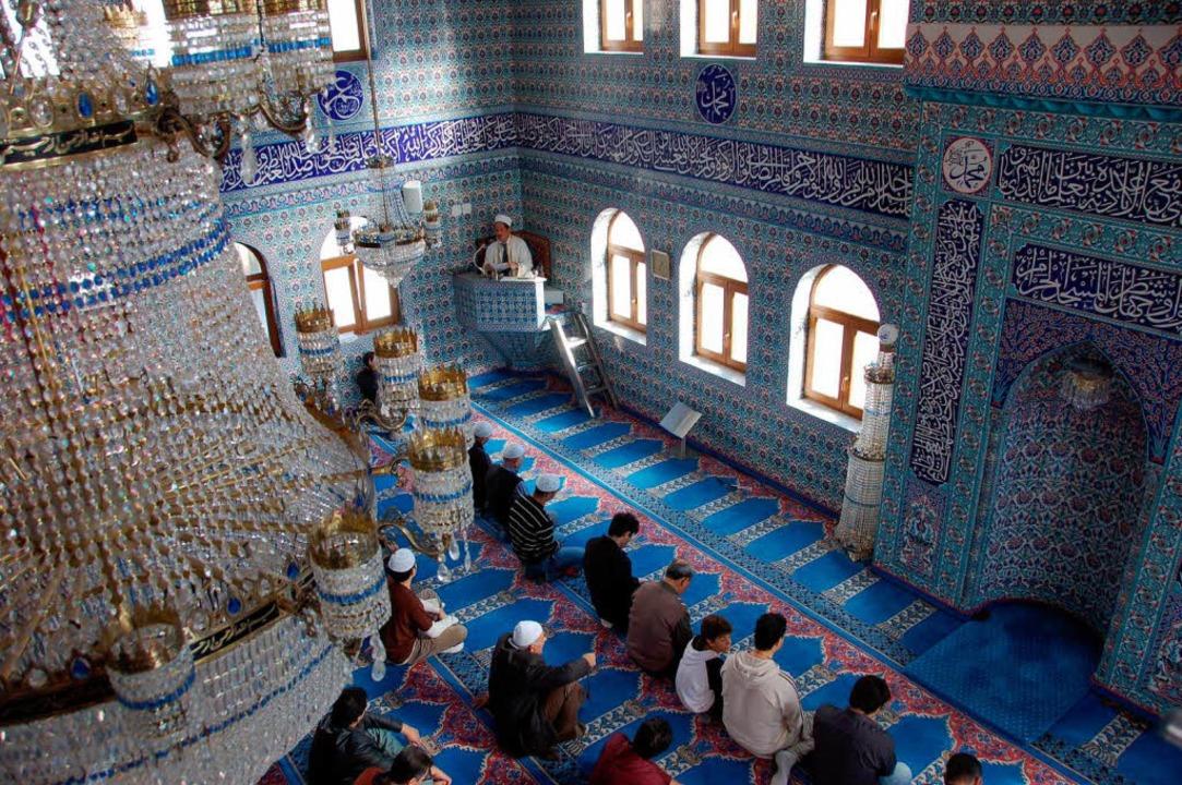 ...und die Moschee in Offenburg sind z... zum Tag der offenen Moschee einladen.  | Foto: ralf burgmaier