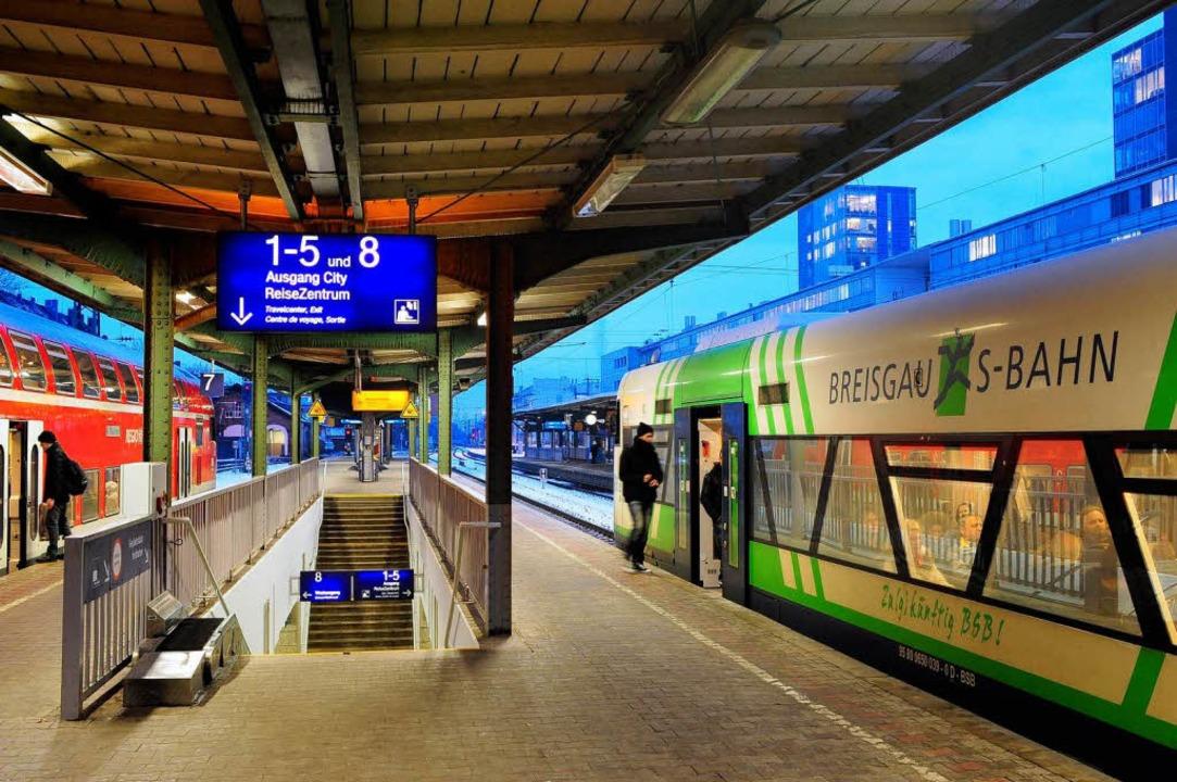 Der Ausbau des Nahverkehrs soll weitergehen.  | Foto: Thomas Kunz