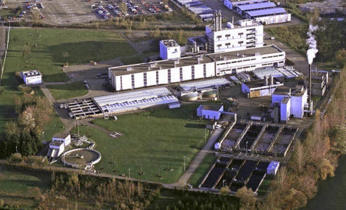 Wenn BASF ihren Teil der Kesslergrube ...r Bau einer neuen Gemeindekläranlage.   | Foto: Archiv Privat