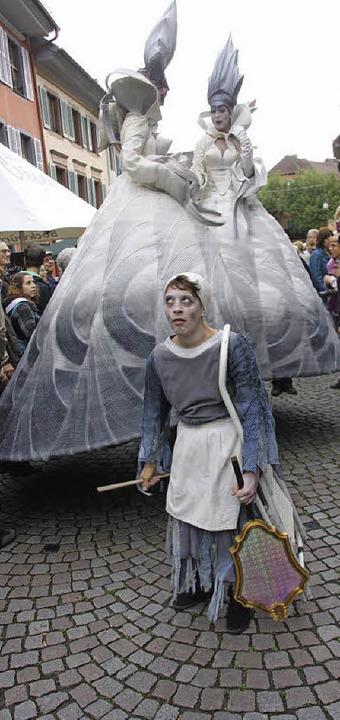 "Ebenso skurrile wie zauberhafte Fabelw...g bei ""Fabelhaftes Staufen"".    Foto: Hans Jürgen Kugler"