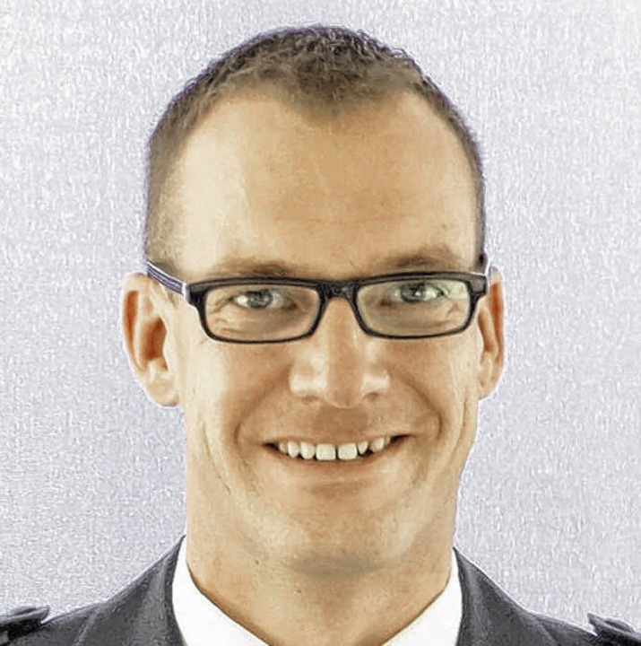Polizeirat Jörg Rommelfanger ist neuer... Donaueschinger Polizei. Bild: Polizei  | Foto: Bild honorarfrei