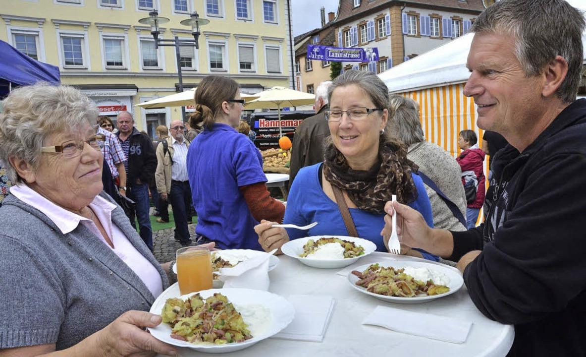 Guten Appetit beim Forchheimer Kartoffelpfännle!    Foto: Sylvia-Karina Jahn