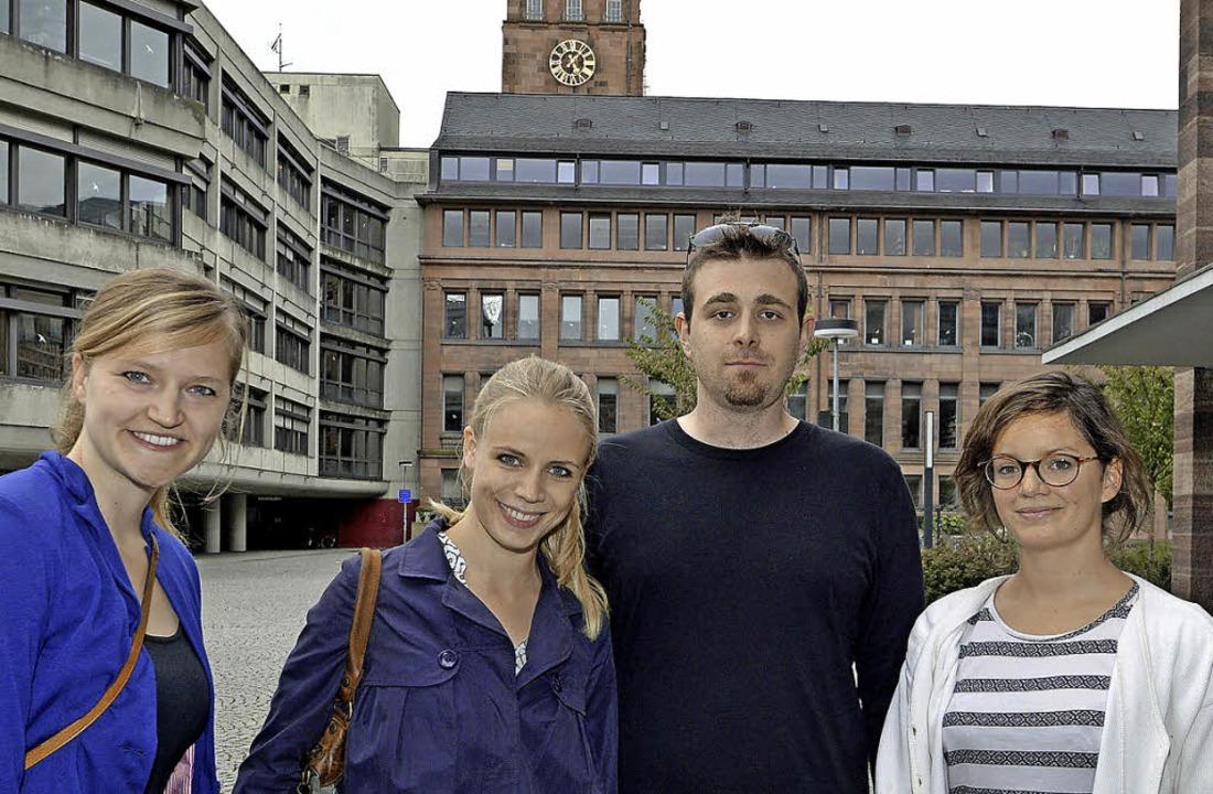 Die Initiative Schlüsselmensch (von li...iede, Andreas Stifel und Lisa Kiechle   | Foto: michael bamberger