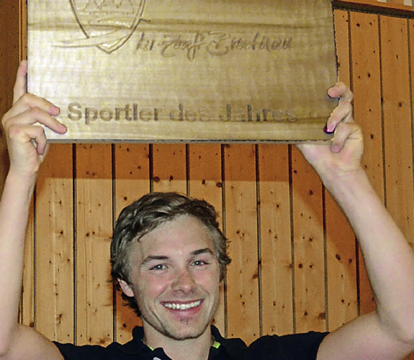 Sportler des Jahres in Breitnau und jetzt Deutscher Meister: Fabian Rießle  | Foto: Johannes Bachmann