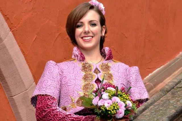 Valerie I. ist die neue Chrysanthemenkönigin von Lahr