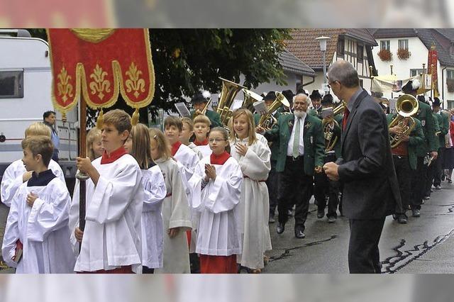 Prozession zum Patrozinium