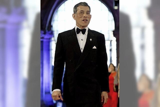 Thailändischer Kronprinz zu Gast auf dem Bohrerhof