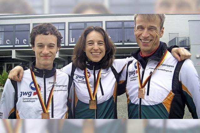 Dreimal Bronze bei Titelkämpfen im Orientierungslauf