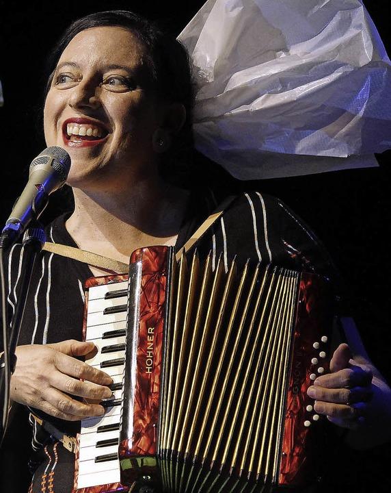 Erika Stucky im September beim Freiburger Jazzfestival   | Foto: Grabherr