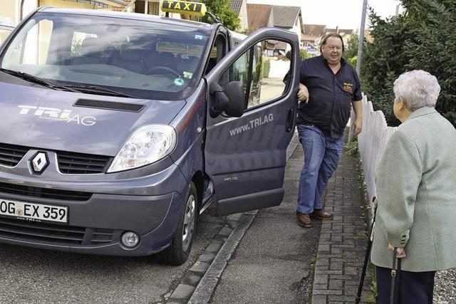 Neu: Städtletreff-Taxi