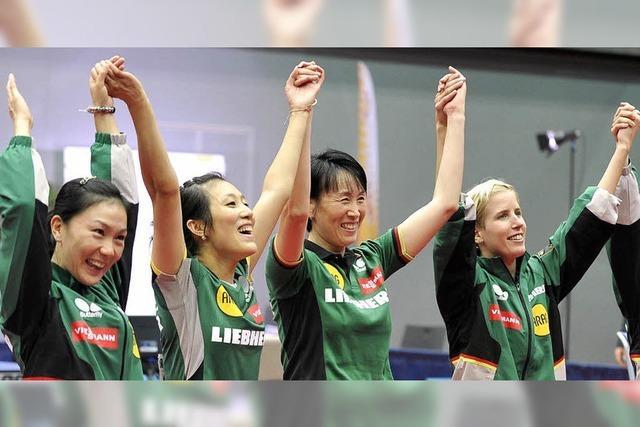 Deutscher Sieg mit chinesischer Hilfe