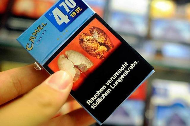 EU stimmt für Schockbilder auf Zigarettenschachteln