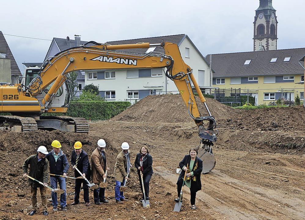 Die Stadt Waldkirch baut: Gestern war ... der Wohnungswirtschaft und der Stadt.  | Foto: Sylvia Timm