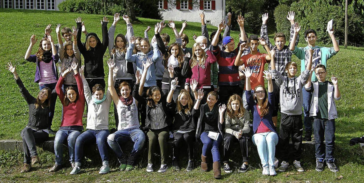 26 Schülerinnen und Schüler bereiteten...hr neues Amt als Schülermentoren vor.   | Foto: privat