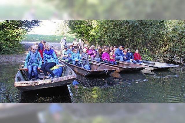 Spirituelle Bootstour auf den Rheinauen