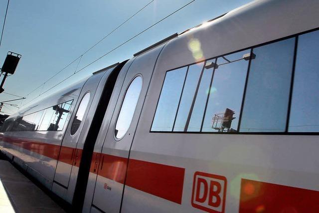Der Bahnhof Lahr erhält einen IC-Halt