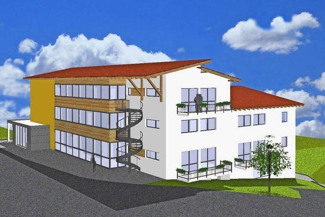 Pläne für ein Seniorenwohnhaus