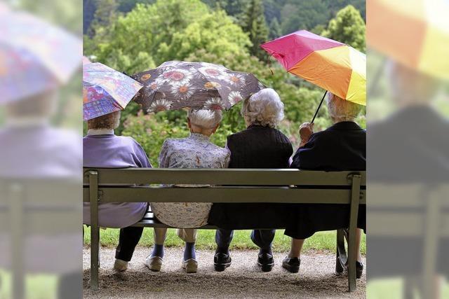 Lebensqualität zählt auch im Alter