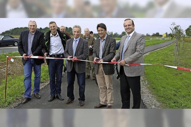 Neuer Weg schließt Lücke für Radler und Fußgänger