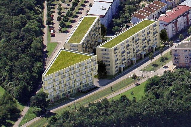 Baubeginn für 36-Millionen-Gebäude am Eingang des Rieselfelds