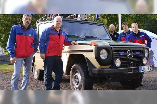 Allradfahrzeug für Rettungseinsätze