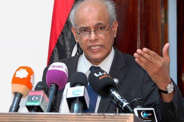 Libyscher Ministerpräsident Seidan wieder frei