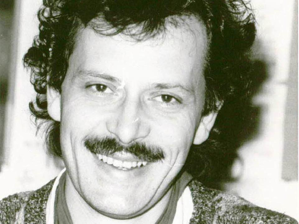 Heinrich Breit in den 80er-Jahren  | Foto: Heinz Wurzer