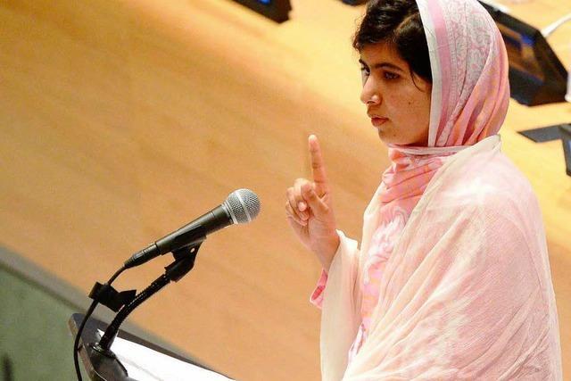 EU-Parlament würdigt Kinderrechtsaktivistin Malala